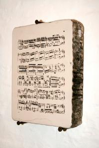 Litografía musical