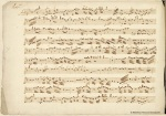 Página del concierto a piu instrumenti de Boccherini