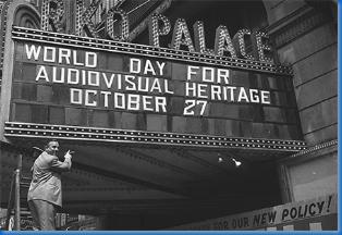Resultado de imagen de día mundial del patrimonio audiovisual