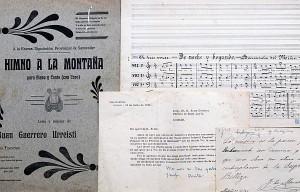 Reproducción de un documento del fondo Sixto Córdova. Foto: EC.