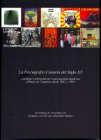 La discografía en Canarias en en siglo XX