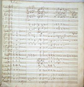 Partitura de Fernández Caballero.