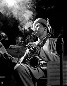 el saxofonista de Jazz Dexter Gordon