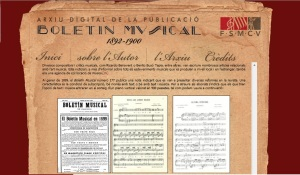 Pantalla Boletín Musical
