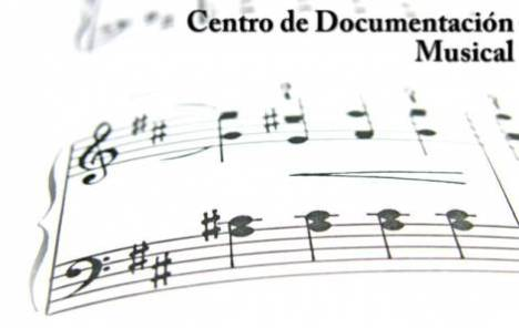 Logo del Centro de Documentación Musical de Colombia