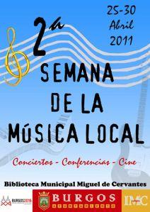 Cartel de la Semana de la Música