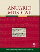 Cubierta Anuario Musical