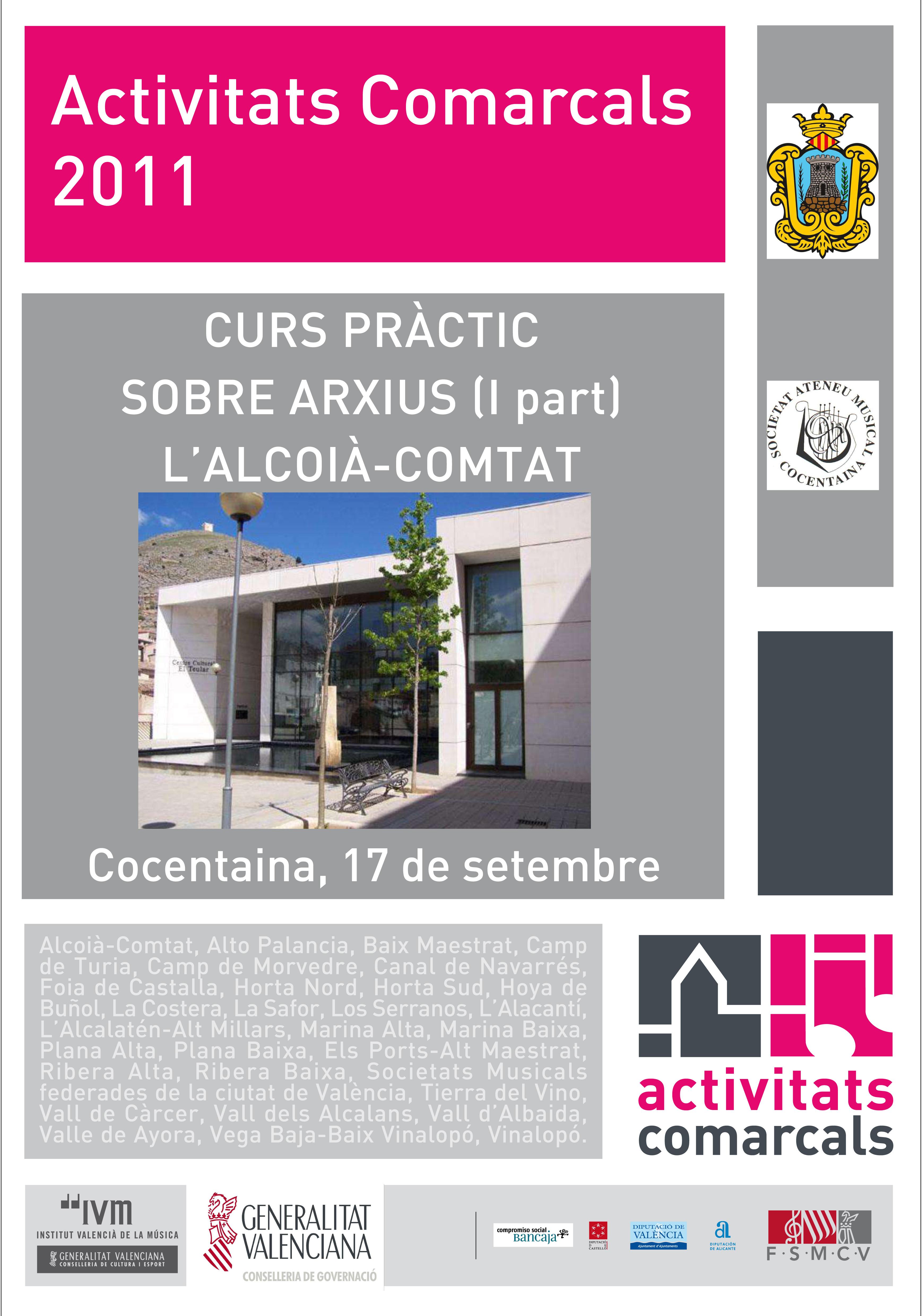 Federaci n de sociedades musicales de la comunidad for Curso mantenimiento de piscinas comunidad valenciana