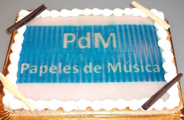 Pastel primer aniversario PdM