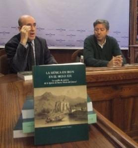 Capdepón y Alegre, en la presentación del libro. (X.S)