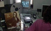 Laboratorio de digitalización de archivos en la sede de la plaza de San Juan