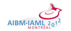 Logo IAML 2012