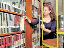 La bibliotecaria Joy Banks