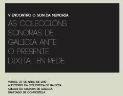 encuentro archivos sonoros de Galicia