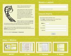Página principal de Partifi.org