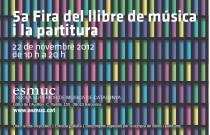 Feria de la partitura ESMUC