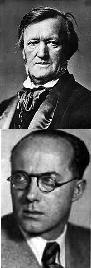 Richard Wagner y Roberto Gerhard