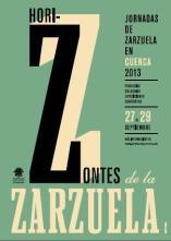 Cartel Horizontes de Zarzuela