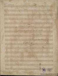 Partitura de Curro vargas, de Ruperto Chapí