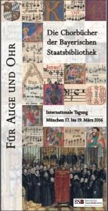 Libros de coro en la BSB