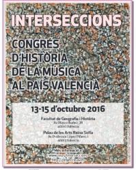 Interseccions. Congrés d'Història de la Música al País Valencià