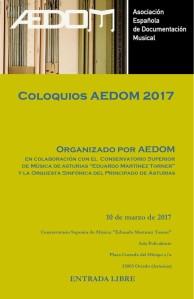 Coloquios Aedom 2017