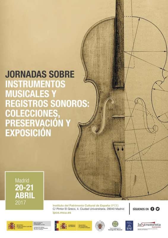 Jornadas sobre instrumentos musicales y registros sonoros ...
