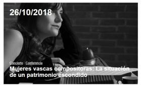 Mujeres Compositoras vascas